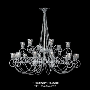 472/12+6, Luxury Classic Chandelier from Italy