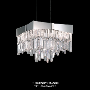 Riviera RF2410, Luxury Modern Crystal Hanging Lamp from America