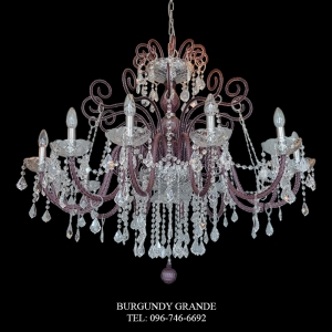 947/12, Luxury Classic Crystal Chandelier from Italy