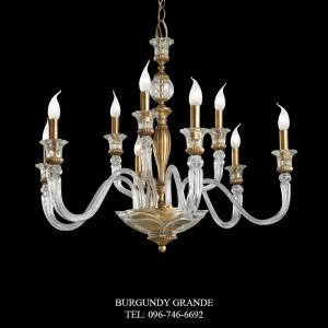 L 13867/6+3, Luxury Chandelier from Italy