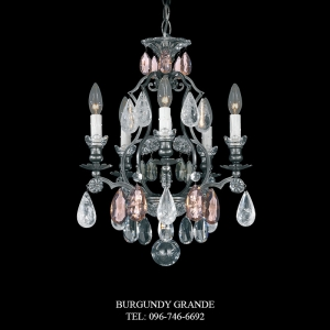 Renaissance Rock Crystal 3569, Luxury Chandelier from Schonbek