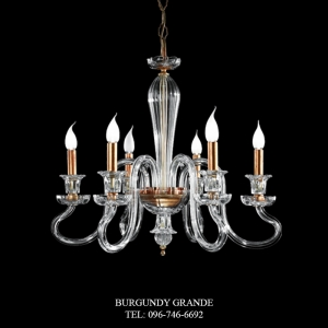 L 14000/6, Luxury Chandelier from Italy
