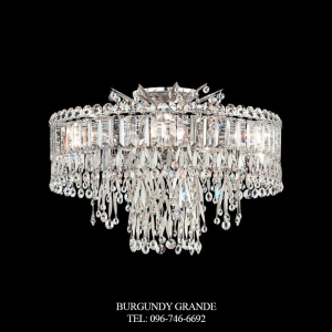 Triandra LR1004, Luxury Crystal Ceiling Lamp from Schonbek, America