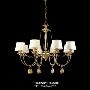 L 14062/8, Luxury Chandelier from Italy