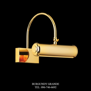LQ 14068/1 CR, Luxury Wall Lamp from Italy