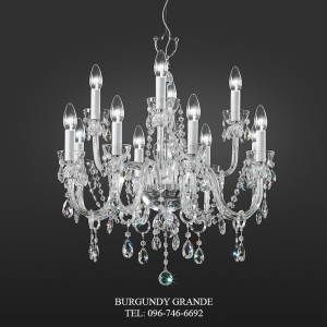 263/8+4, Luxury Classic Crystal Chandelier from Italy