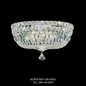 Petit Crystal Deluxe 5893, Luxury Ceiling Lamp from Schonbek