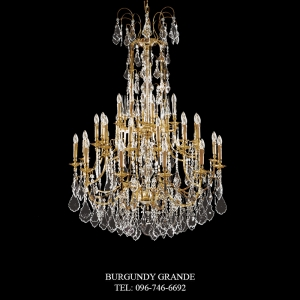 L 13034/28, Luxury Chandelier from Italy