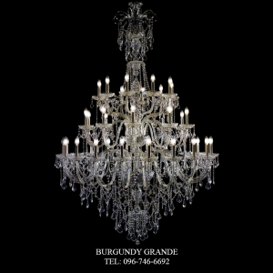ROYAL 20+10+10, Luxury Crystal Chandelier from Spain