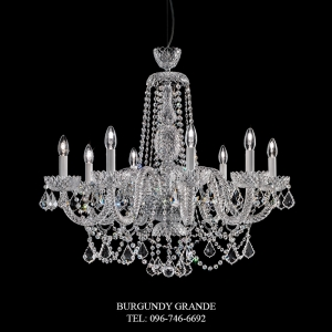282/8, Luxury Classic Crystal Chandelier from Italy