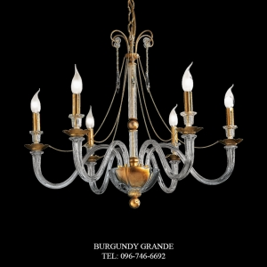 L 13828/6, Luxury Chandelier from Italy