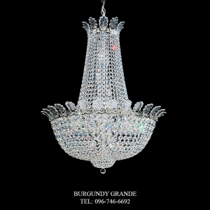 RomanEmpire 3718, Luxury Modern Classic Crystal Chandelier from America