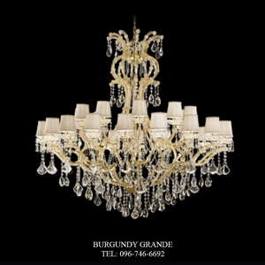 L 14386-30 CP, Luxury Crystal Chandelier from Italy