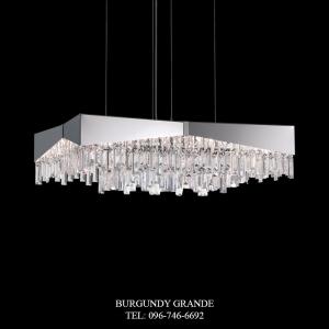 Riviera RF2432N, Luxury Modern Crystal Hanging Lampfrom America