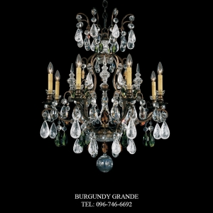 Renaissance Rock Crystal 3571, Luxury Chandelier from Schonbek