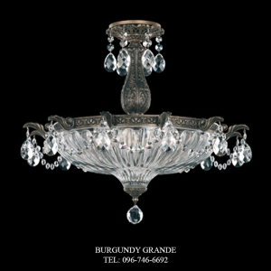 Milano 5650, Luxury Ceiling Lamp from Schonbek
