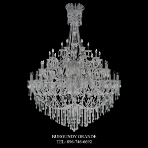 Vermont 30+20+10+05 CLEAR, Luxury Crystal Chandelier from Spain