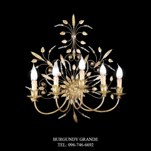 A 13344/5, Luxury Wall Lamp from Italy