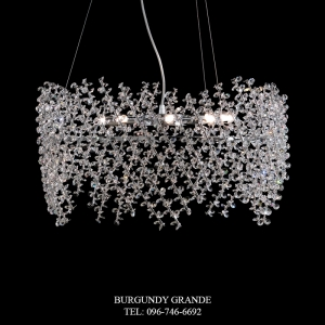 L 14218/8 SWA, Luxury Chandelier from Italy