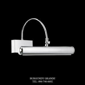 LQ 14069/2 CR, Luxury Wall Lamp from Italy