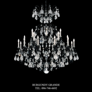 Renaissance Rock Crystal 3574, Luxury Chandelier from Schonbek