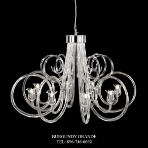 460/8, Luxury Classic Chandelier from Italy