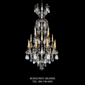 Renaissance Rock Crystal 3582, Luxury Chandelier from Schonbek
