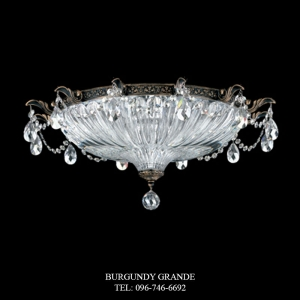 Milano 5635, Luxury Ceiling Lamp from Schonbek