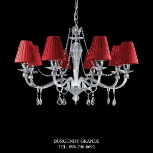 L 14110/8 CP CR, Luxury Chandelier from Italy