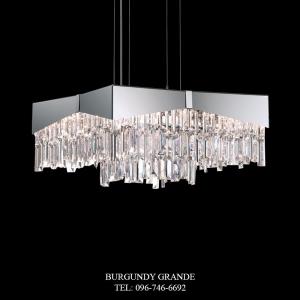 Riviera RF2418N, Luxury Modern Crystal Hanging Lampfrom America