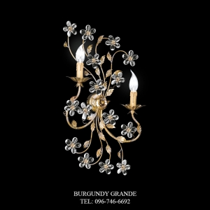 A 12902/2, Luxury Wall Lamp from Italy
