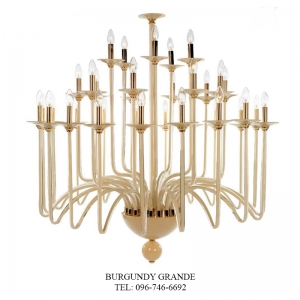 Atlanta 630142/20+10+5, Luxury Blown Glass Chandelier from Iris Crystal