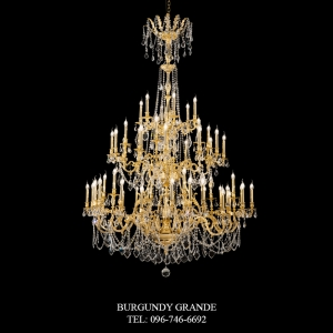 L 15050/54, Luxury Classic Crystal Chandelier from Italy