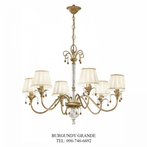 L 13758/6 CP, Luxury Chandelier from Italy