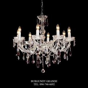 C-422/8, Luxury Crystal Chandelier from Spain