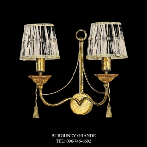 A 13593/2 CP, Luxury Wall Lamp from Italy