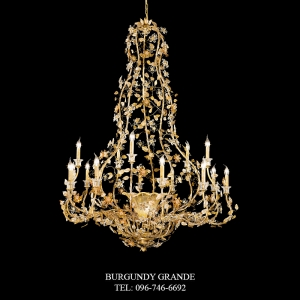 L 13898/15+1, Luxury Chandelier from Italy