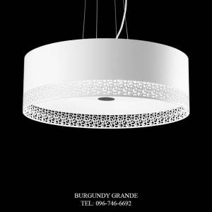 PL 14463/4, Modern Hanging Lamp from Italy