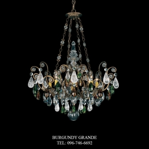 Renaissance Rock Crystal 3587, Luxury Chandelier from Schonbek