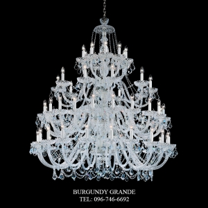 282/20+20+10+10, Luxury Classic Crystal Chandelier from Italy