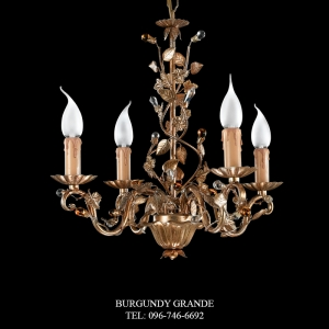 L 13954/4, Luxury Chandelier from Italy